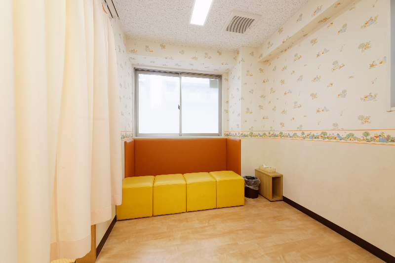 健診、予防接種専用待合室